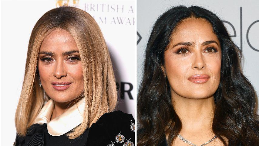 Plötzlich blond! Salma Hayek überrascht mit neuer Frisur