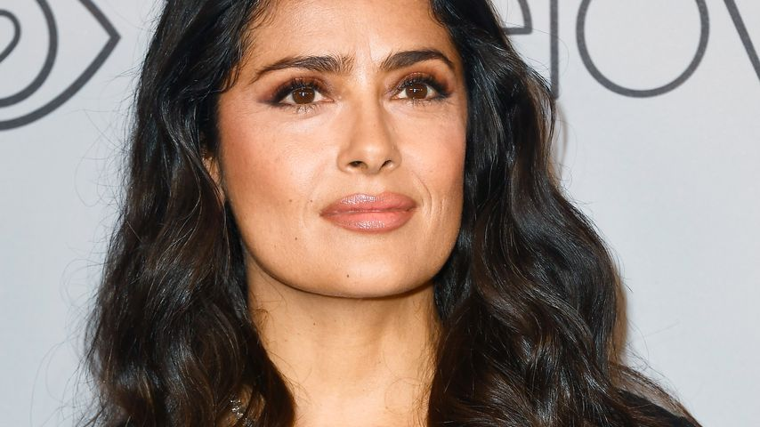 Salma Hayek bei der Warner Bros./InStyle Golden Globe Party