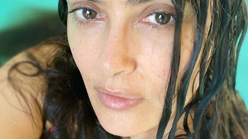 Wow-Pic: So toll sieht Salma Hayek ungeschminkt aus