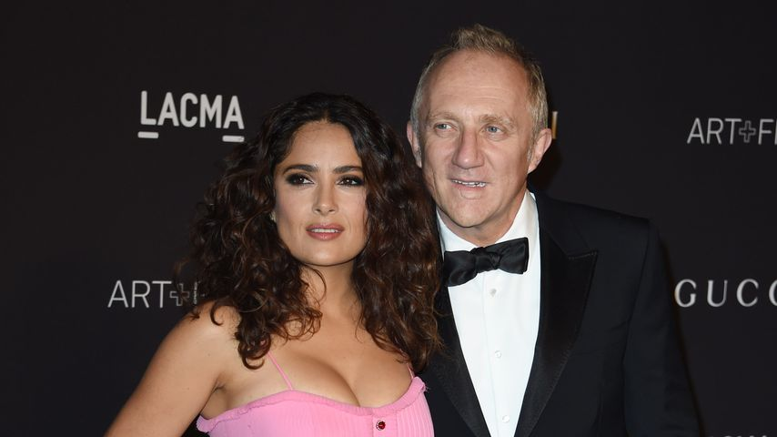 Salma Hayek und Francois-Henri Pinault in Los Angeles, November 2015