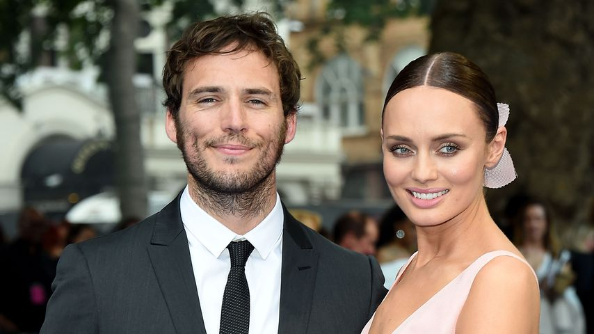 "Sam Clafflin und Laura Haddock bei der ""Transformers 5: The Last Knight""-Premiere"