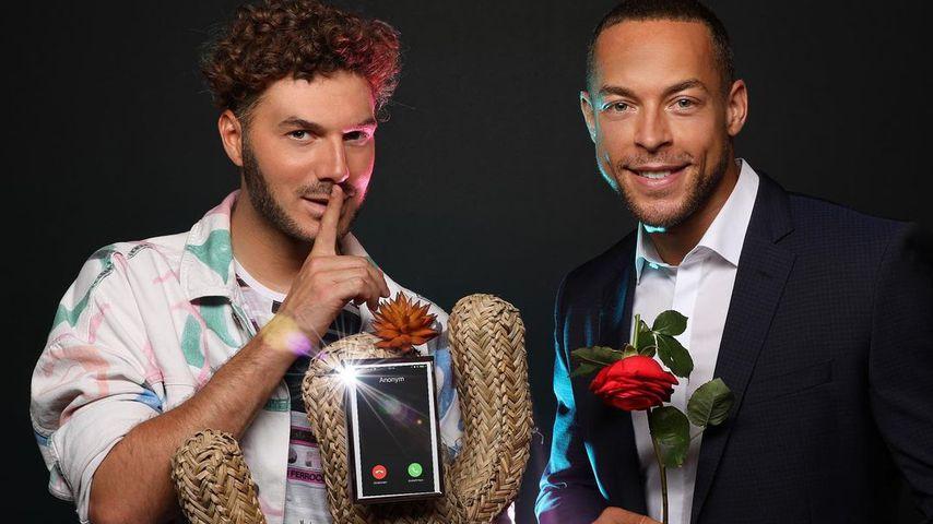 """Sam Dylan und Andrej Mangol für ihren Podcast """"Ready Or Not"""""""