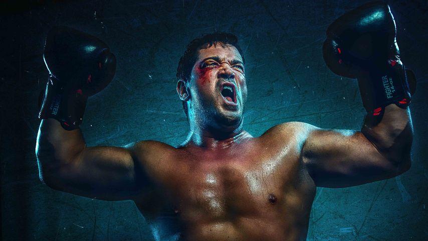 """Sam Eisenstein als """"Rocky Balboa"""""""