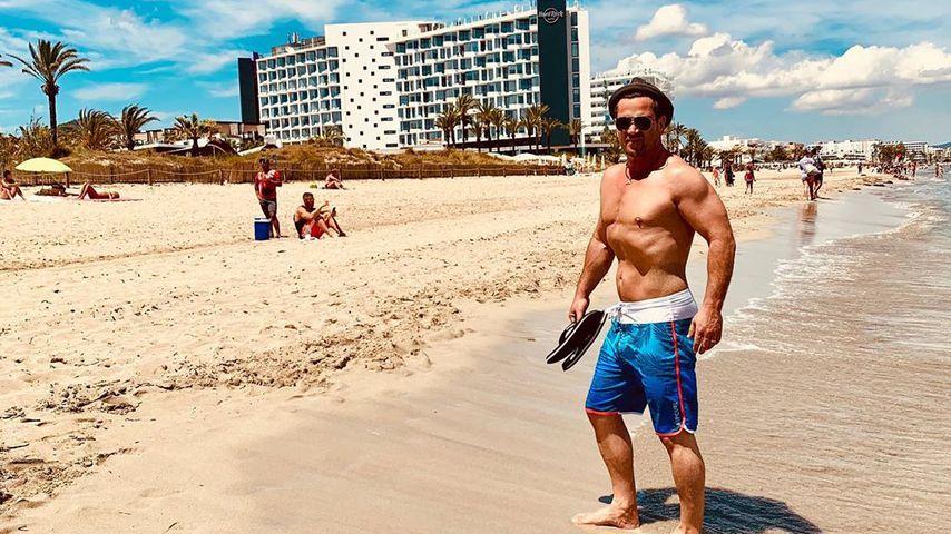 Sam Eisenstein auf Ibiza