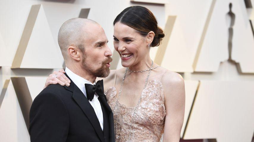 Sam Rockwell und Leslie Bibb bei den Oscars 2019
