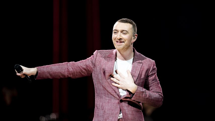 Sam Smith bei einem Auftritt in der O2-Arena in London