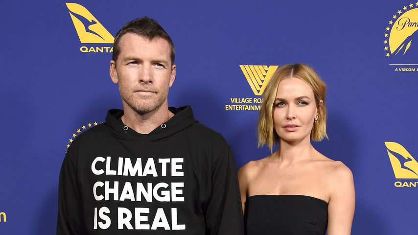 Sam Worthington und Lara Bingle Worthington beim Australians In Film Award & Benefit Dinner 2018