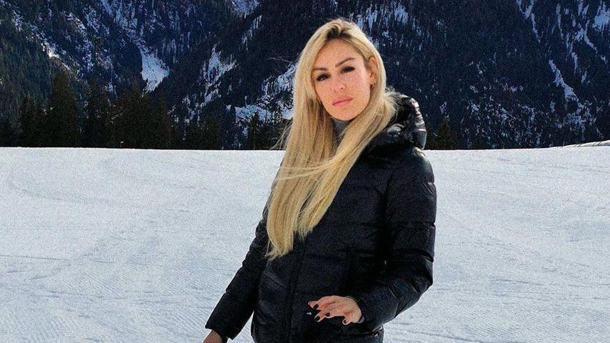 Samantha Justus im Dezember 2019 in Tirol