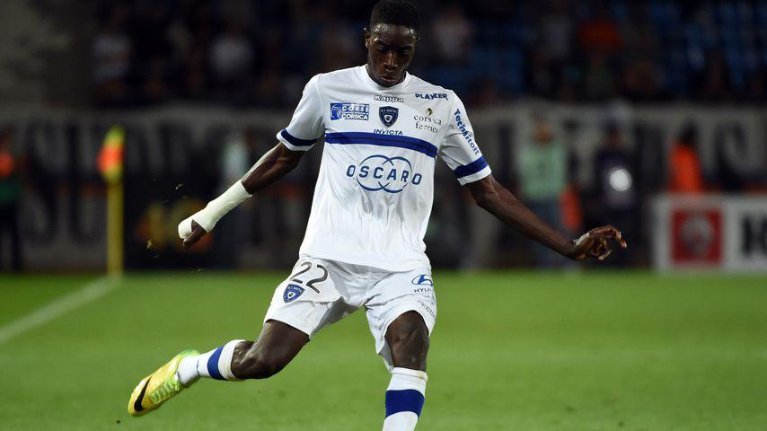Sambou Yatabaré auf dem Fußballplatz