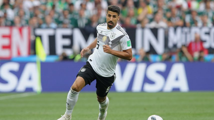 Sami Khedira bei einem Spiel für Deutschland