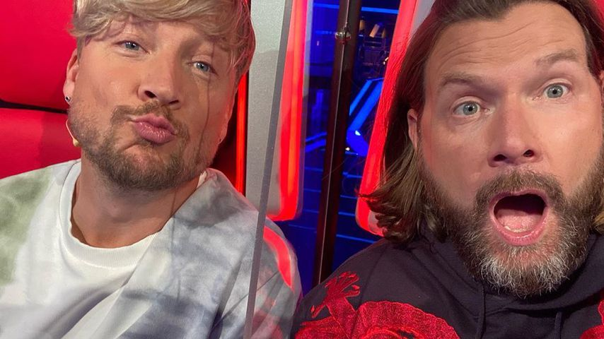 "Samu Haber und Rea Garvey bei ""The Voice of Germany"""