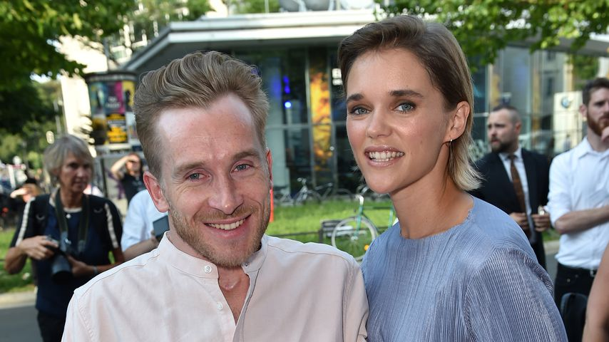 Samuel Koch und seine Frau Sarah Elena beim Filmfest München 2018