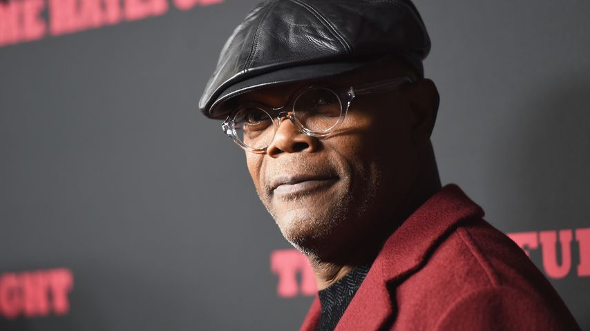 "Samuel L. Jackson bei der Premiere von ""The Hateful Eight"""