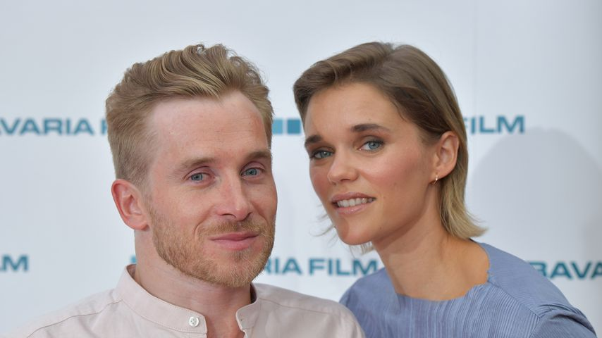 Samuel und Sarah Elena Koch beim Filmfestival in München