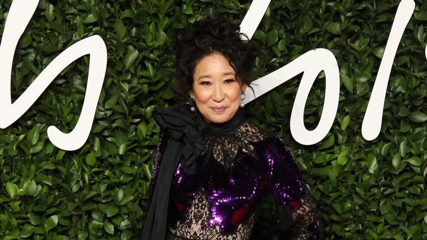 Sandra Oh bei den British Fashion Awards 2019