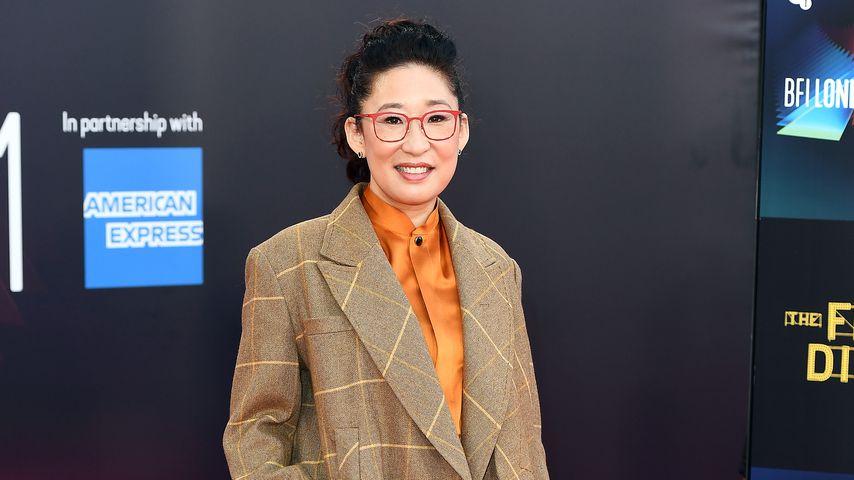 """Sandra Oh bei der Premiere von """"The French Dispatch"""""""