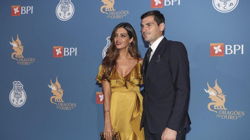 Sara Carbonero und Iker Casillas im Oktober 2017