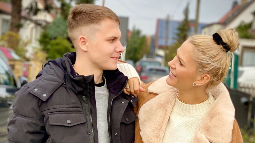 Geschwister-Liebe: Sara Kulka zeigt ihren Bruder im Netz