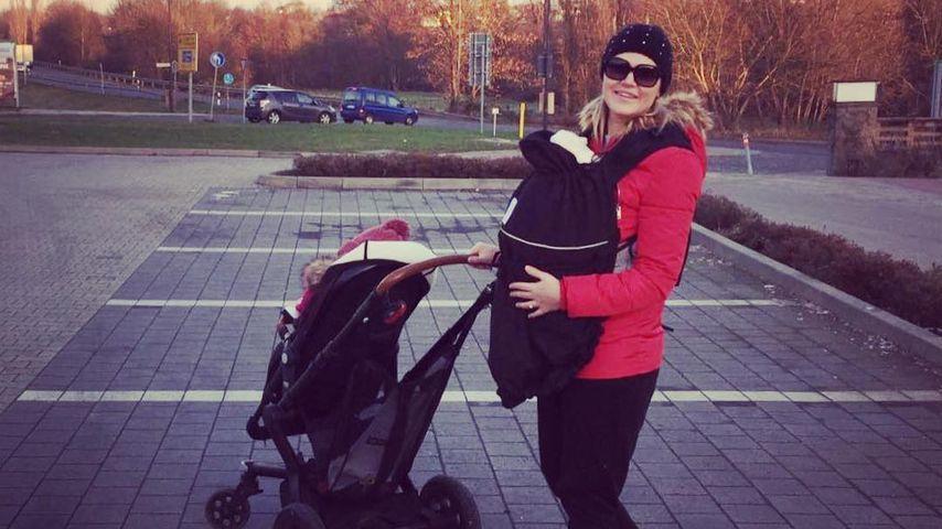 Sara Kulka mit ihren Kindern
