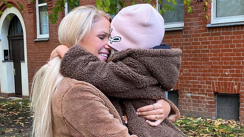 Sara Kulka ganz emotional: Ihre älteste Tochter wird sechs!