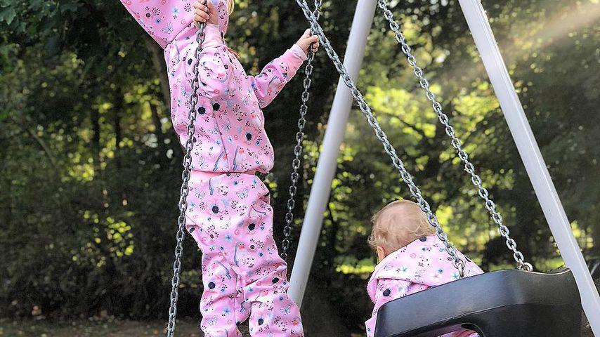 Sara Kulkas Töchter Matilda und Annabell