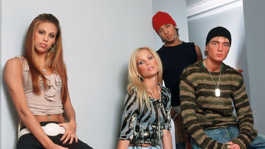 Sara, Marie, Amit und Dhani der Band A-Teens