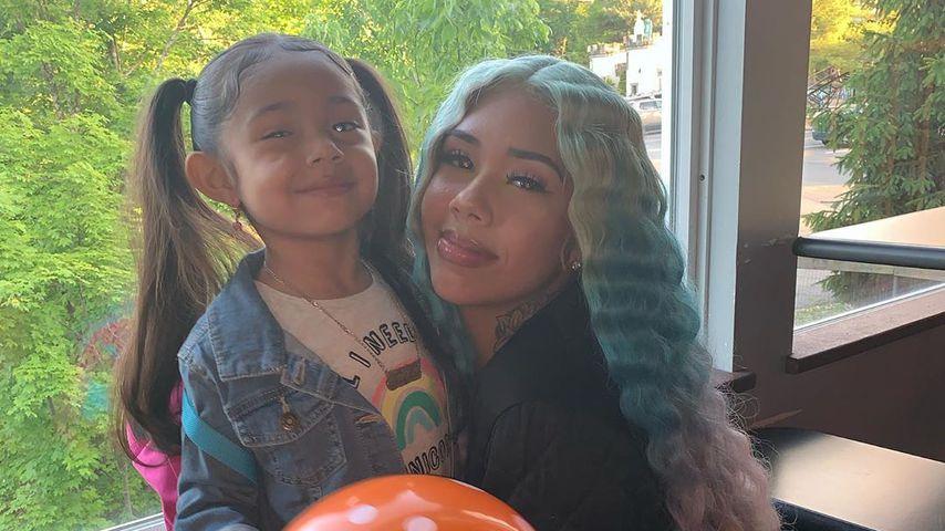 Sara Molina mit ihrer Tochter Saraiyah