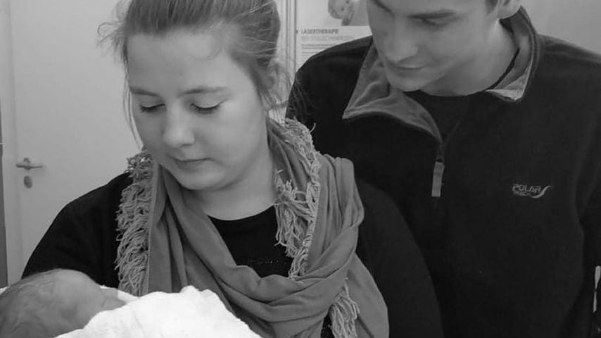 Sarafina Wollny und Mann Peter mit Nichte Cathaleya