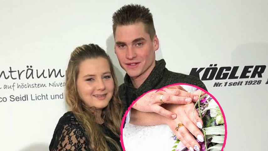 """""""Überglücklich"""": Sarafina Wollny und Peter haben geheiratet"""