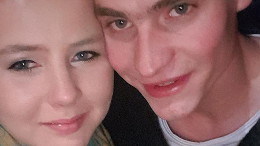 Sarafina Wollny und Peter Heck im Dezember 2017