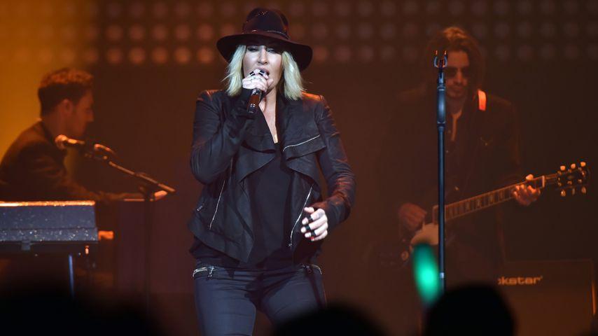 Sarah Connor bei einem Auftritt in Duisburg