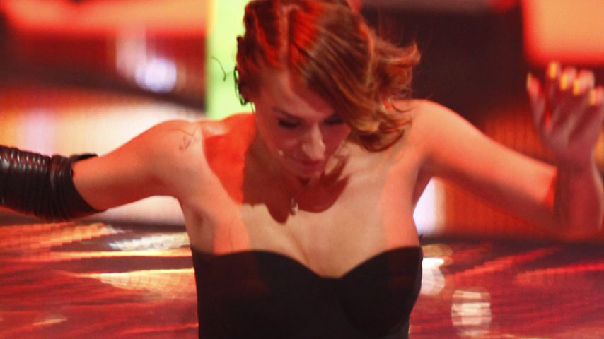 "Sarah Connor bei ""X Factor""-Finale fast gestürzt"