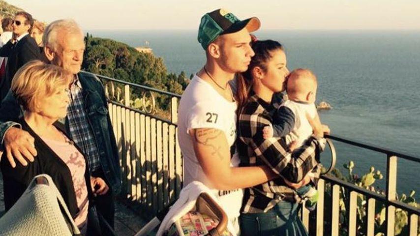 Süßes Foto: Sarah & Pietro Lombardi im Familien-Glück!