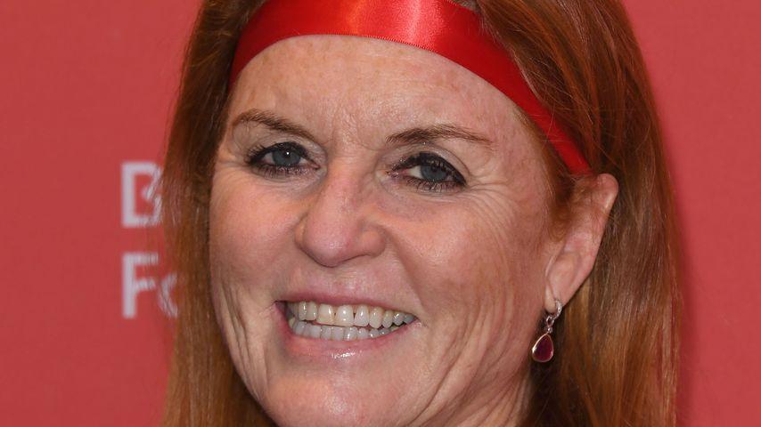 Wegen Enkel August: So happy ist Sarah Ferguson als Oma!
