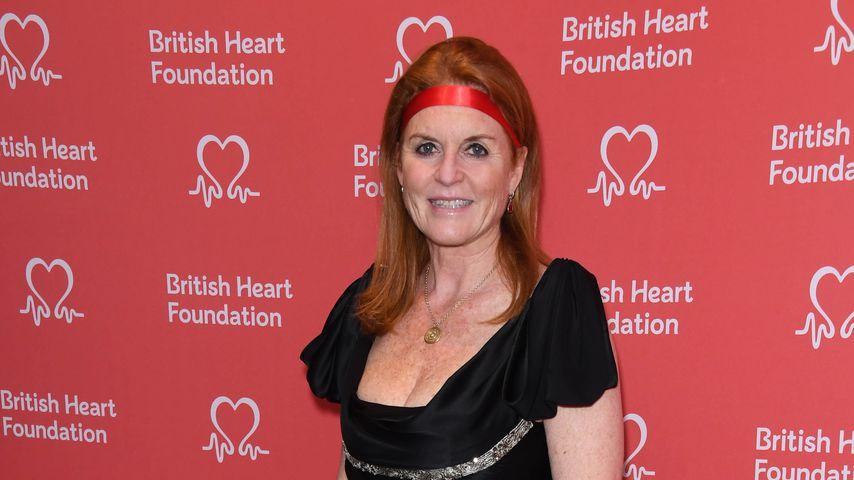 Sarah Ferguson im September 2019 in London