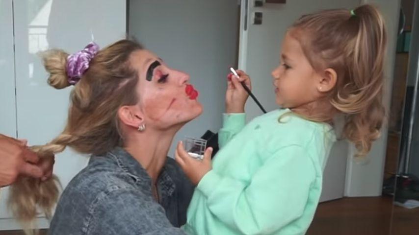 Sarah Harrison und ihre Tochter Mia Rose