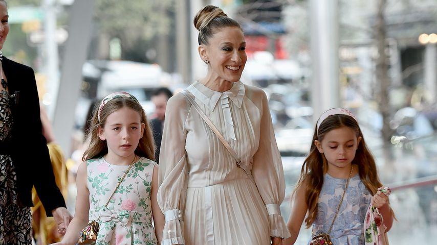 Sarah Jessica Parker und ihre Töchter bei NYCB-Frühlingsgala