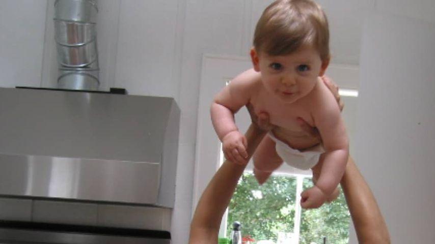 Sarah Jessica Parker mit Baby James
