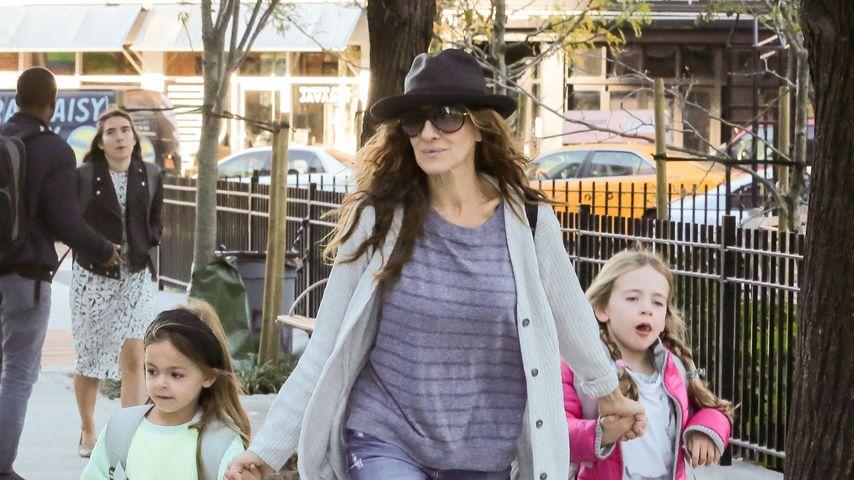 Style in the Street: Sarah Jessica Parker mit ihren Töchtern