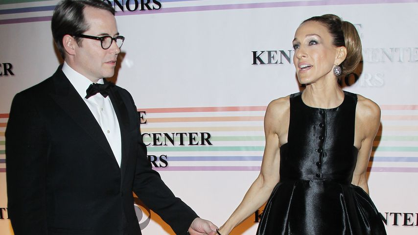 Sarah Jessica Parker und Matthew Broderick bei den 34. Kennedy Center Honors in Washington