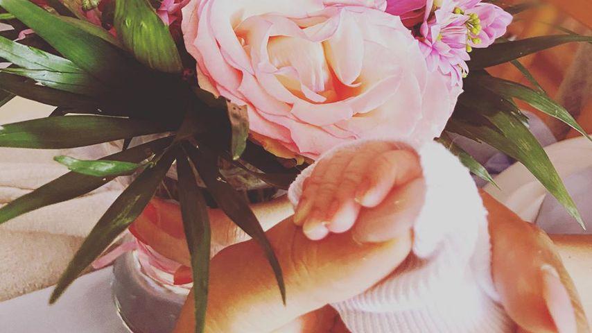 Sarah Joelle Jahnels Baby-Post