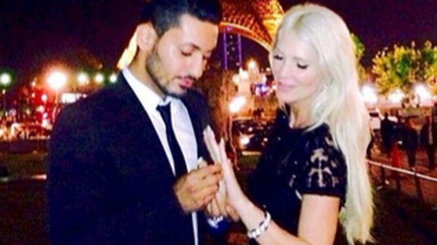 Romantik pur! Sarah Kern verlobte sich in Paris