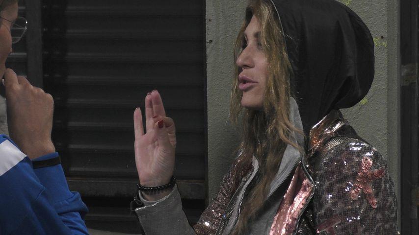 "Sarah Kern und Jens Hilbert bei ""Promi Big Brother"""