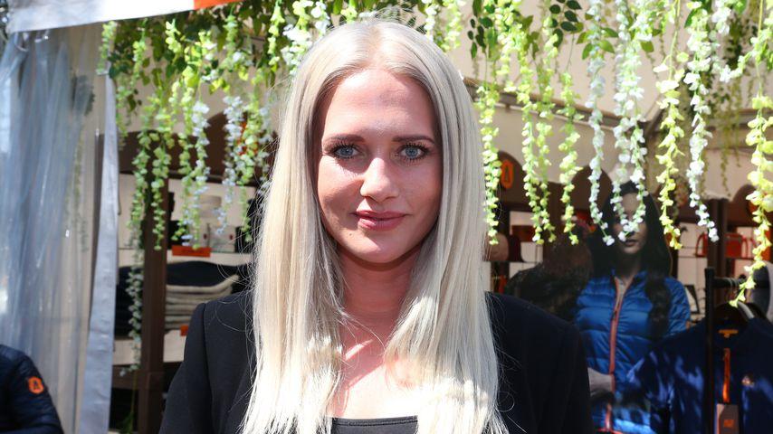 Sarah Knappik beim Spring-und Dressurderby in Hamburg