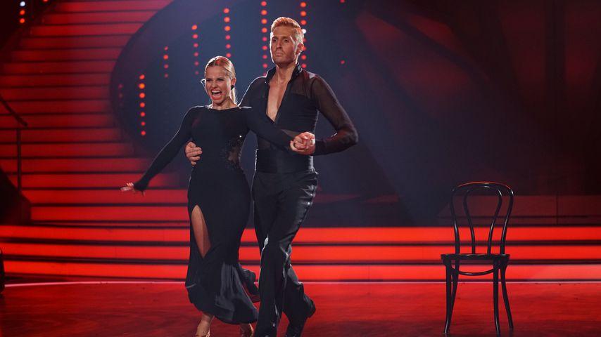 """Sarah Latton und Maximilian Arland bei der 10. Staffel der RTL Show """"Let's Dance"""""""