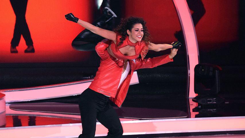 "Sarah Lombardi und Joti Polizoakis im ""Dancing on Ice""-Halbfinale 2019"