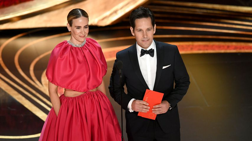 Sarah Paulson und Paul Rudd bei den Academy Awards 2019 in Hollywood