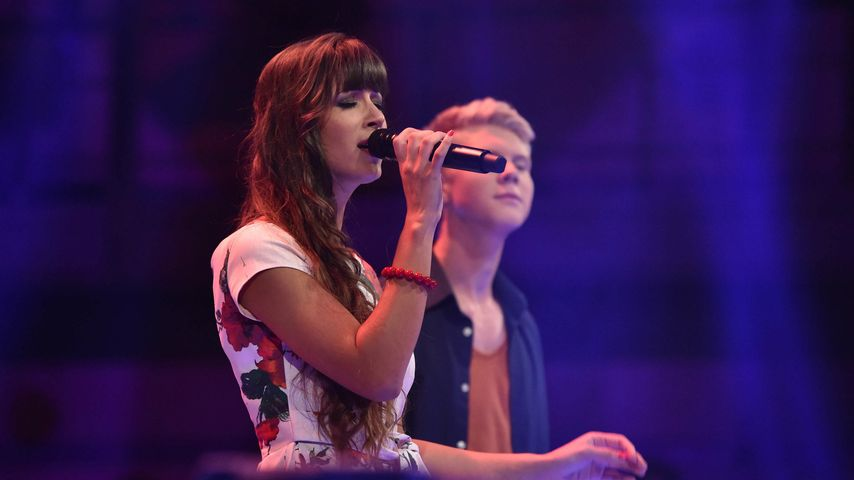 """Sarah Sacher beim """"The Voice of Germany""""-Duell"""