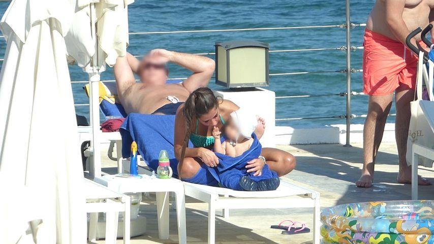 Sarah und Alessio Lombardi auf Kreta