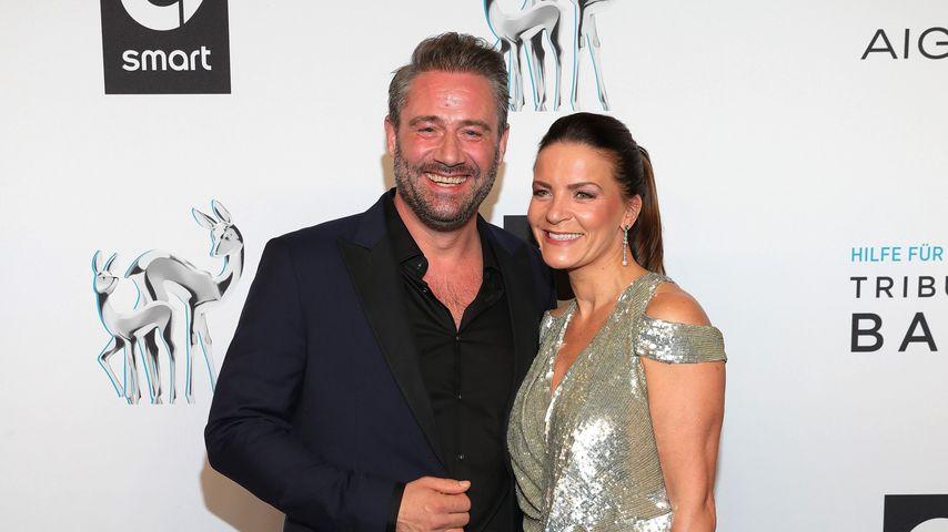 Sasha und seine Frau Julia Roentgen im November 2019